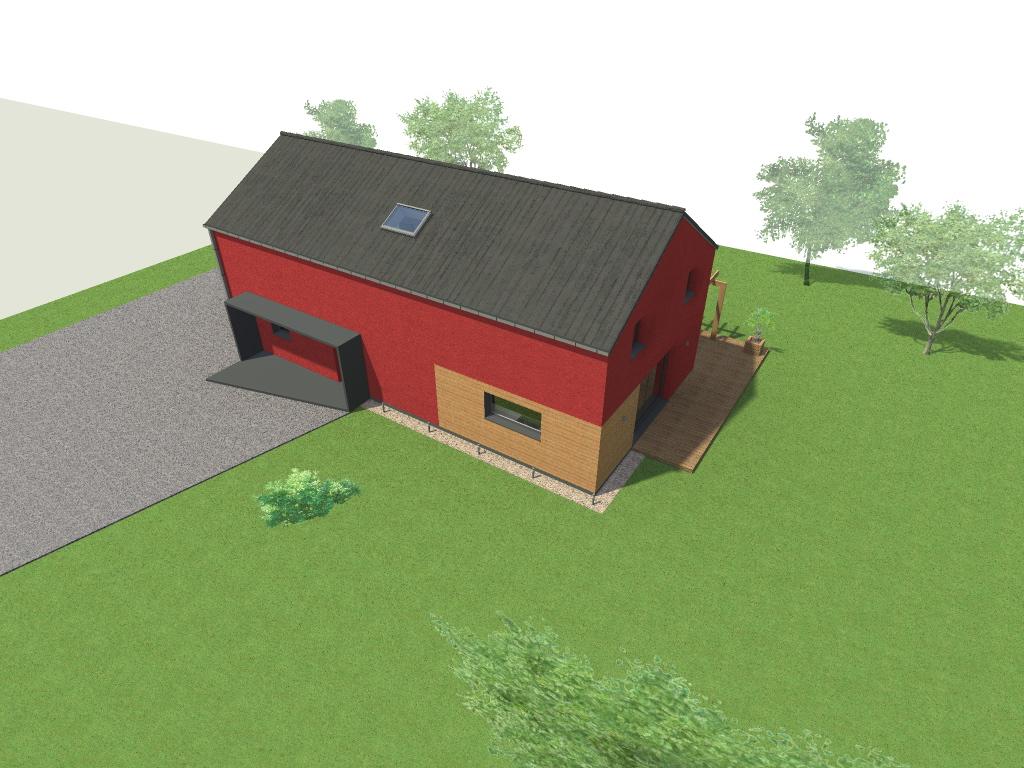 15.08 Atelier Permis de construire construction maison Loft La Gorgue2
