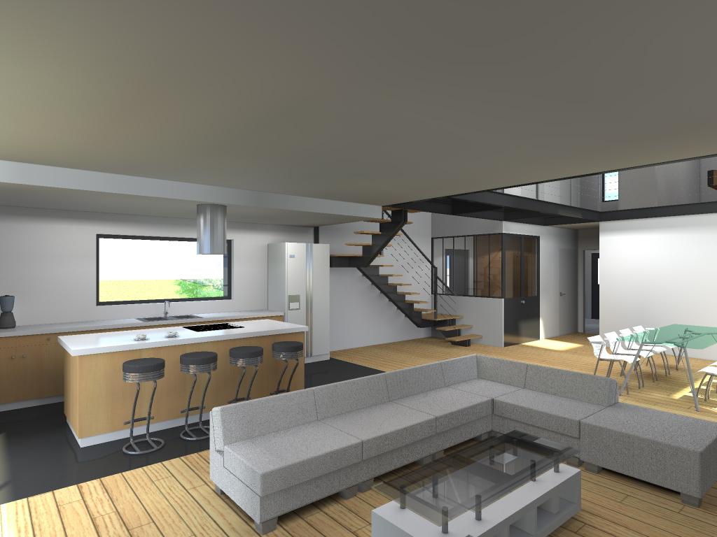 15.08 Atelier Permis de construire construction maison Loft La Gorgue20