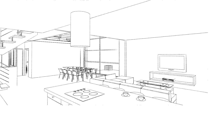 15.08 Atelier Permis de construire construction maison Loft La Gorgue21