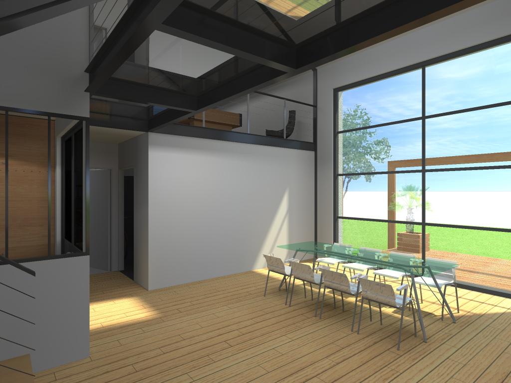 15.08 Atelier Permis de construire construction maison Loft La Gorgue24