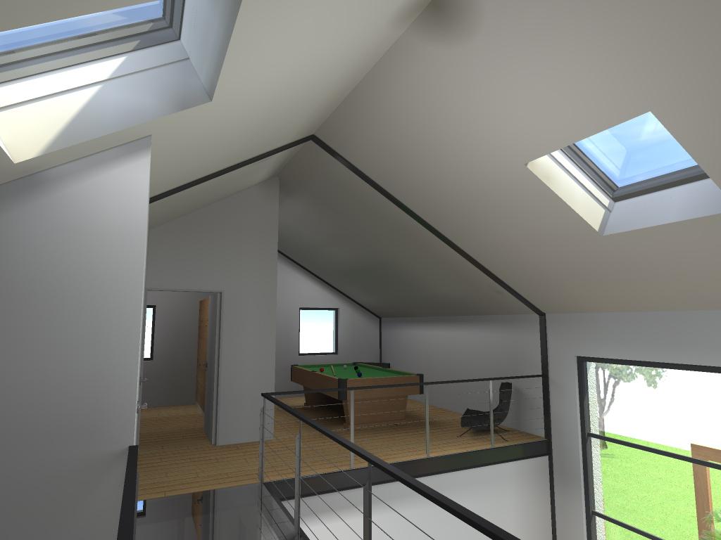 15.08 Atelier Permis de construire construction maison Loft La Gorgue26