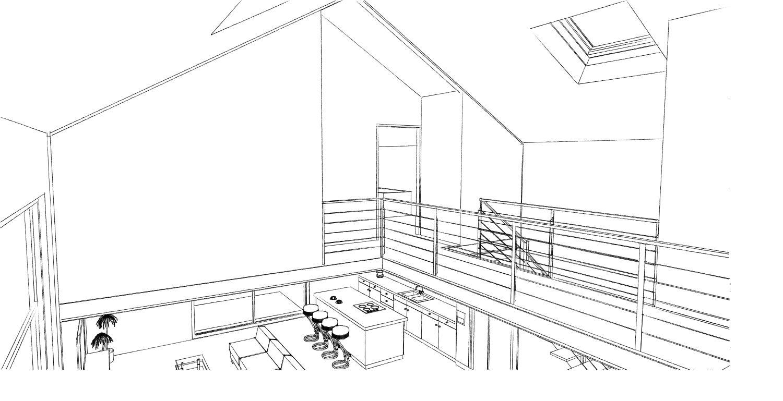 15.08 Atelier Permis de construire construction maison Loft La Gorgue27