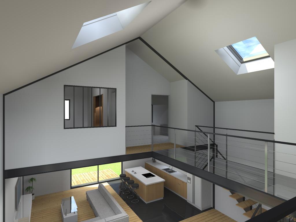 15.08 Atelier Permis de construire construction maison Loft La Gorgue28