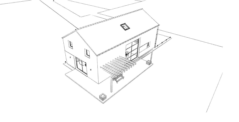 15.08 Atelier Permis de construire construction maison Loft La Gorgue3