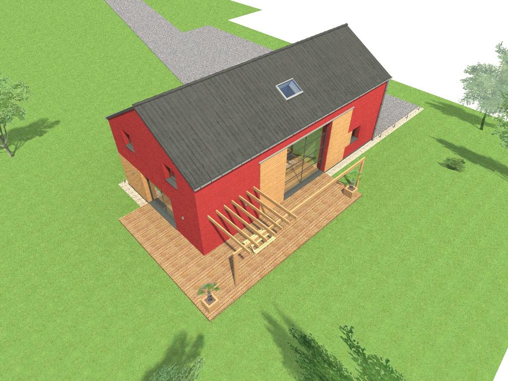 15.08 Atelier Permis de construire construction maison Loft La Gorgue4