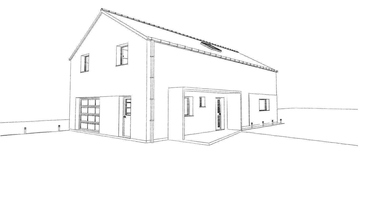 15.08 Atelier Permis de construire construction maison Loft La Gorgue7