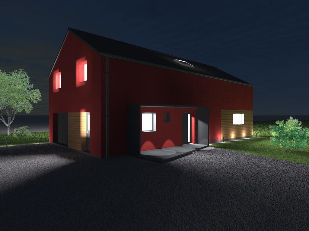 15.08 Atelier Permis de construire construction maison Loft La Gorgue8.1
