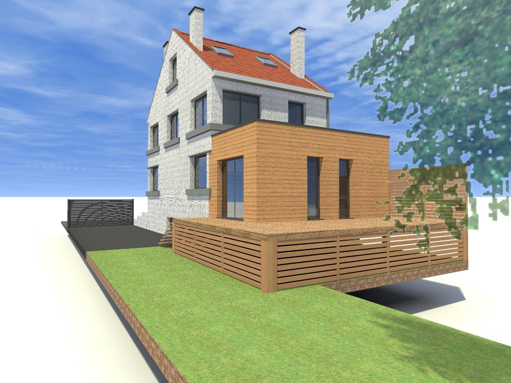 15.29 Atelier Permis de construire extension nord Marcq en Baroeul11