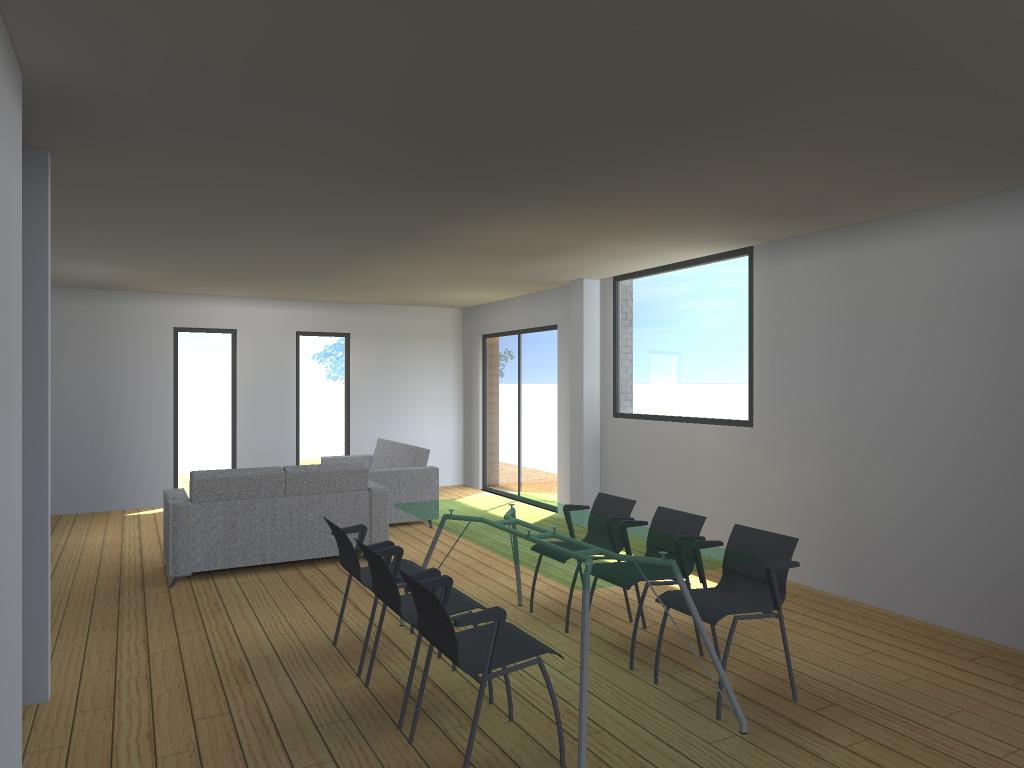 15.29 Atelier Permis de construire extension nord Marcq en Baroeul15