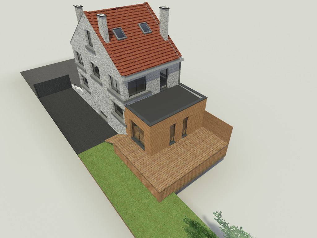 15.29 Atelier Permis de construire extension nord Marcq en Baroeul3