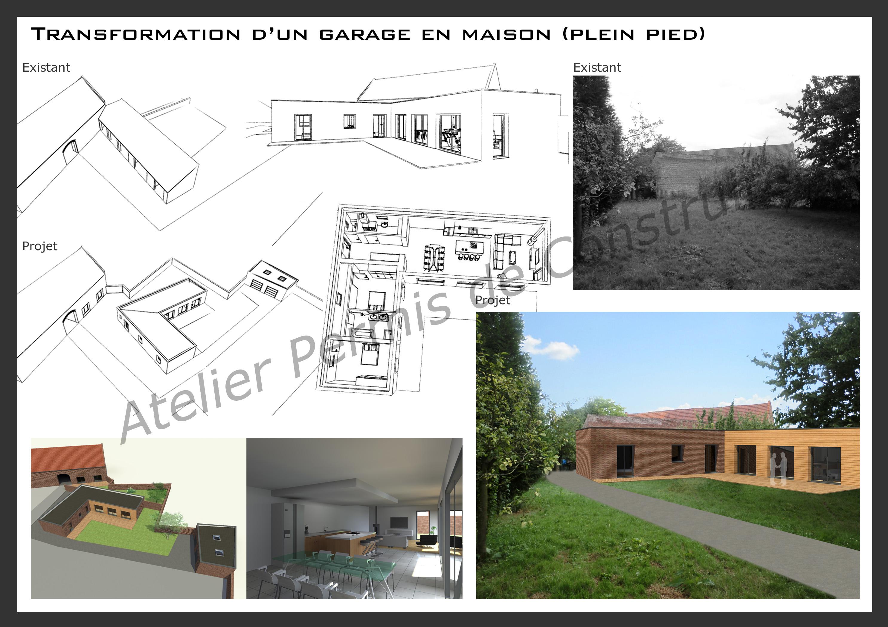 15.24 Atelier Permis de construire rénovation nord architecte