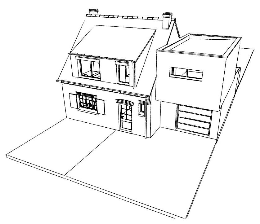 15.31 Atelier Permis de construire extension nord Avelin1