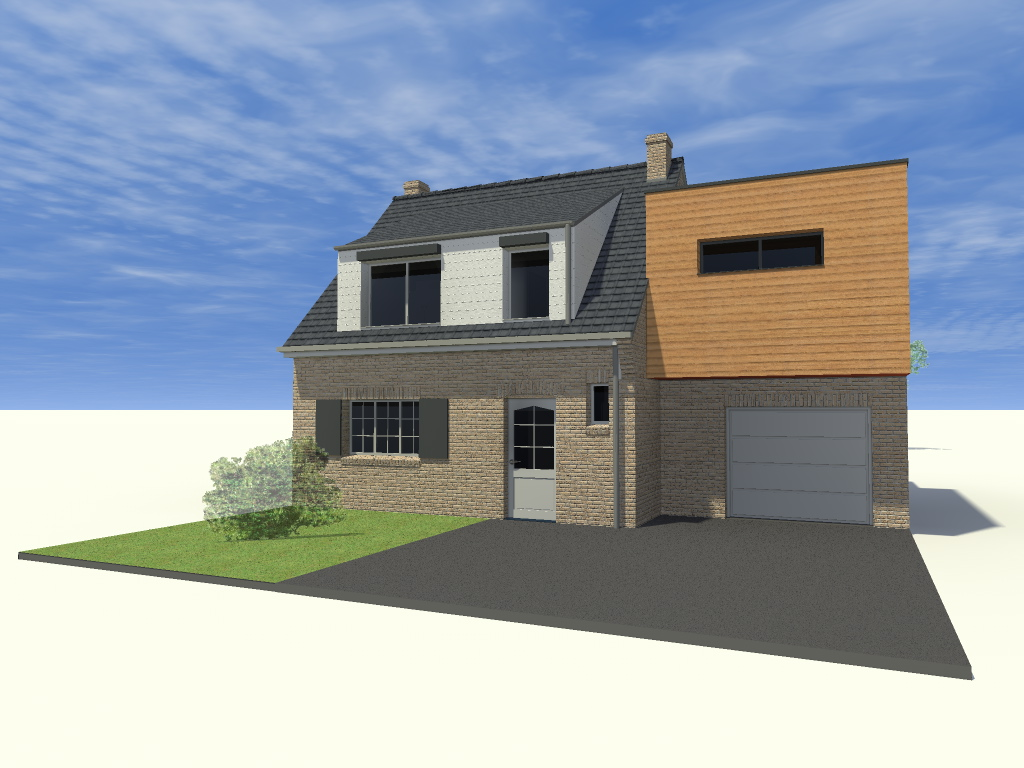 15.31 Atelier Permis de construire extension nord Avelin10