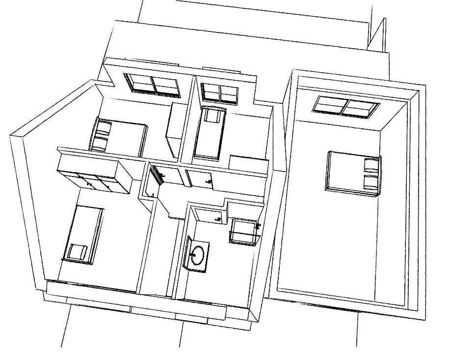 15.31 Atelier Permis de construire extension nord Avelin13