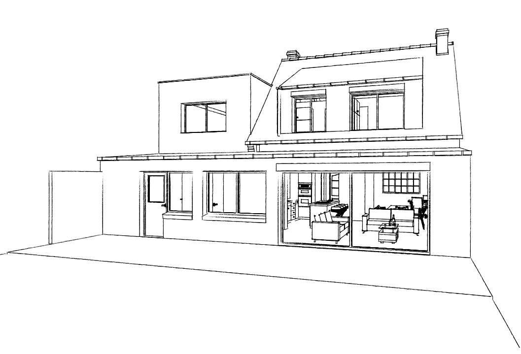 15.31 Atelier Permis de construire extension nord Avelin4.1