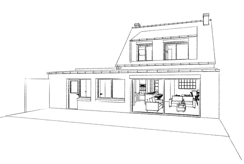 15.31 Atelier Permis de construire extension nord Avelin4