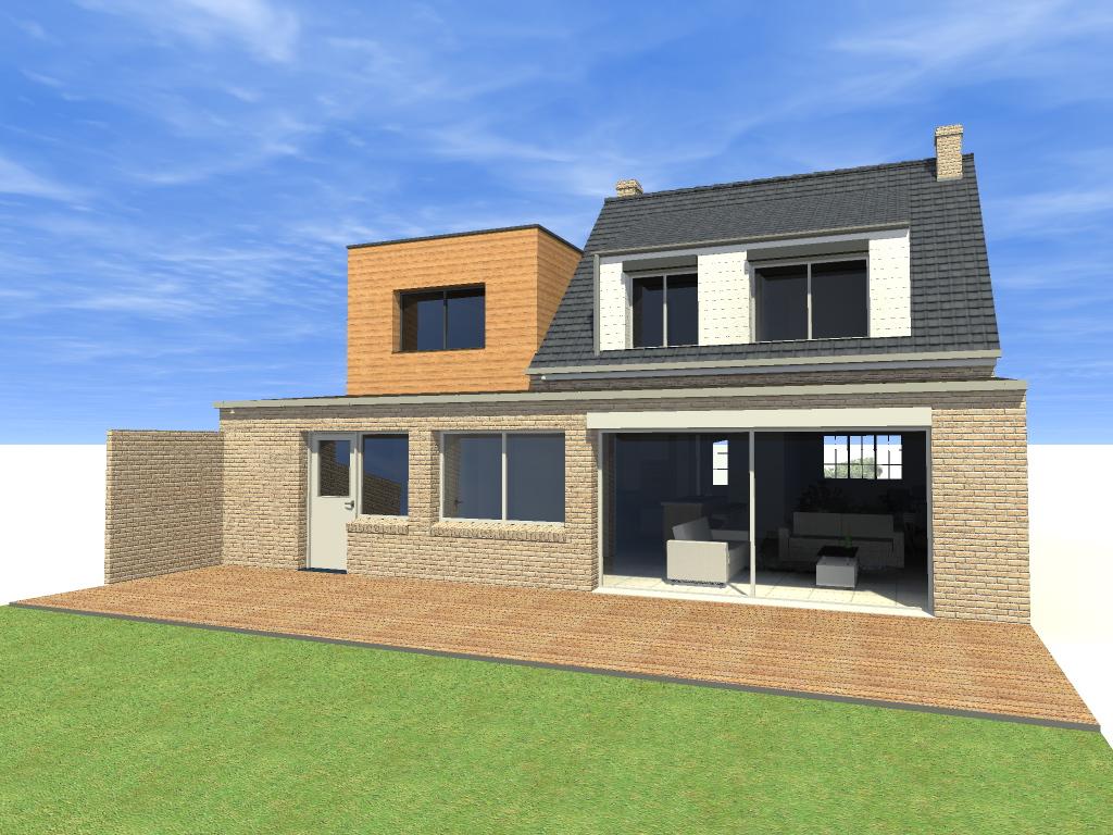 15.31 Atelier Permis de construire extension nord Avelin5