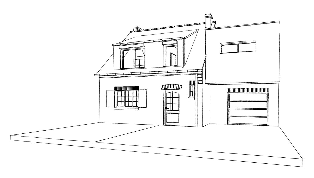 15.31 Atelier Permis de construire extension nord Avelin9