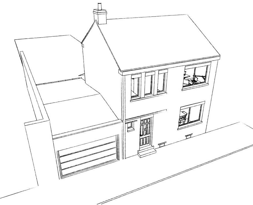 15.26 Extension maison permis de construire nord Valenciennes1