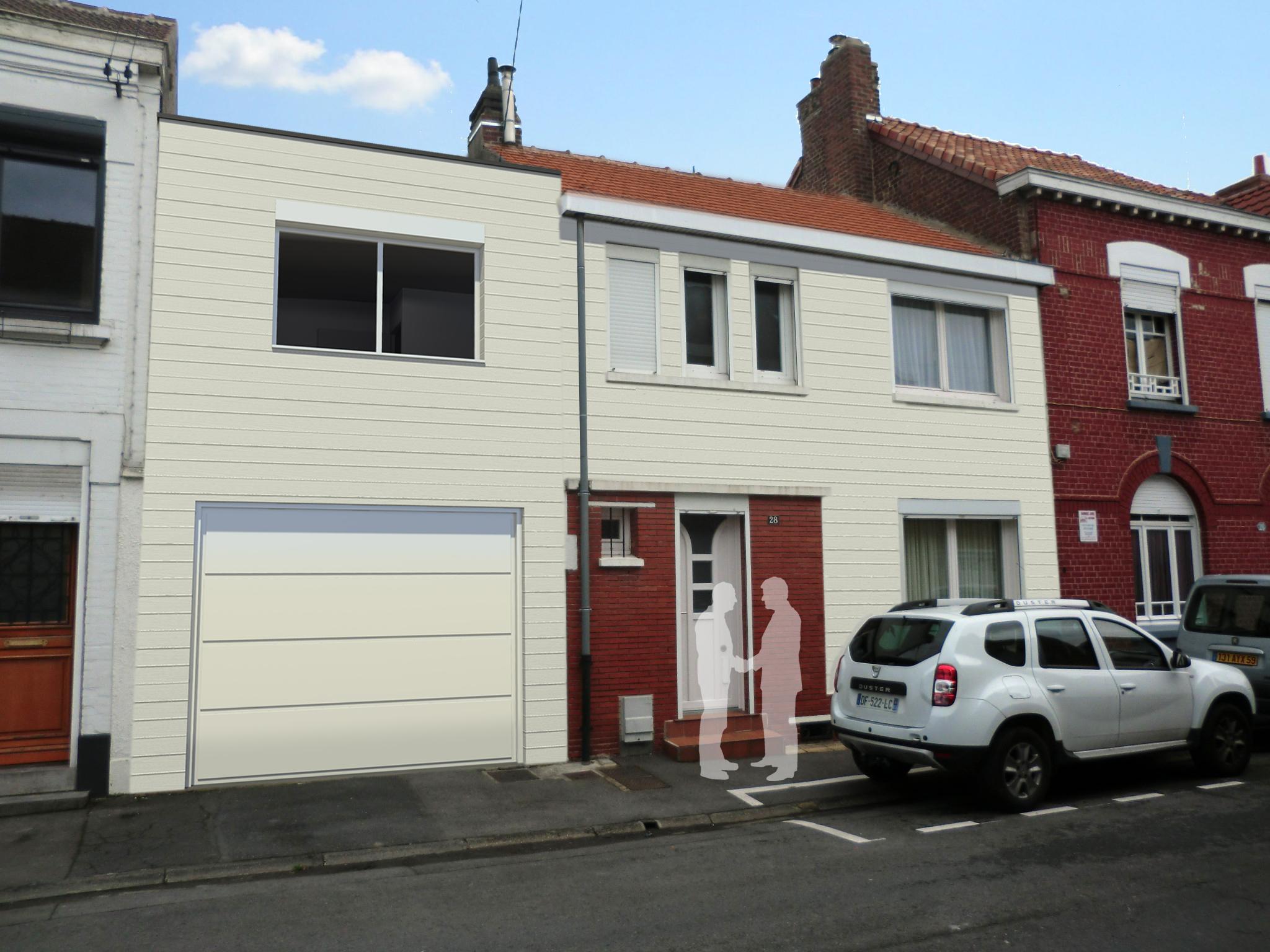 15.26 Extension maison permis de construire nord Valenciennes12