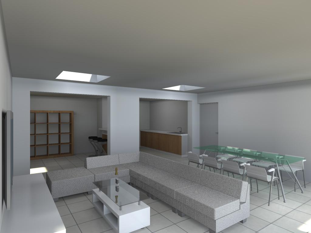 15.26 Extension maison permis de construire nord Valenciennes24