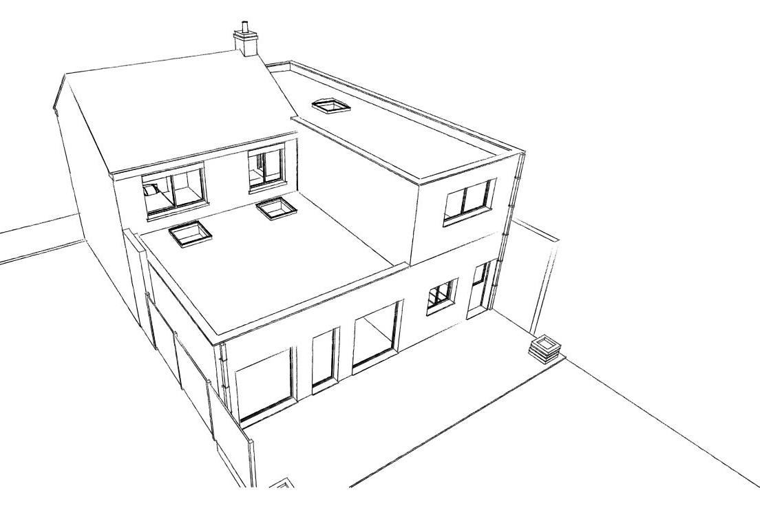 15.26 Extension maison permis de construire nord Valenciennes5