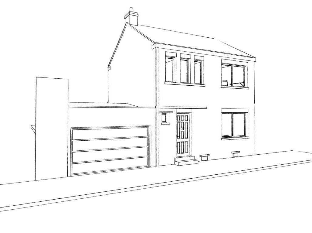 15.26 Extension maison permis de construire nord Valenciennes8