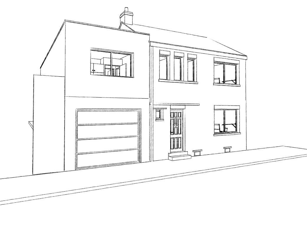 15.26 Extension maison permis de construire nord Valenciennes9