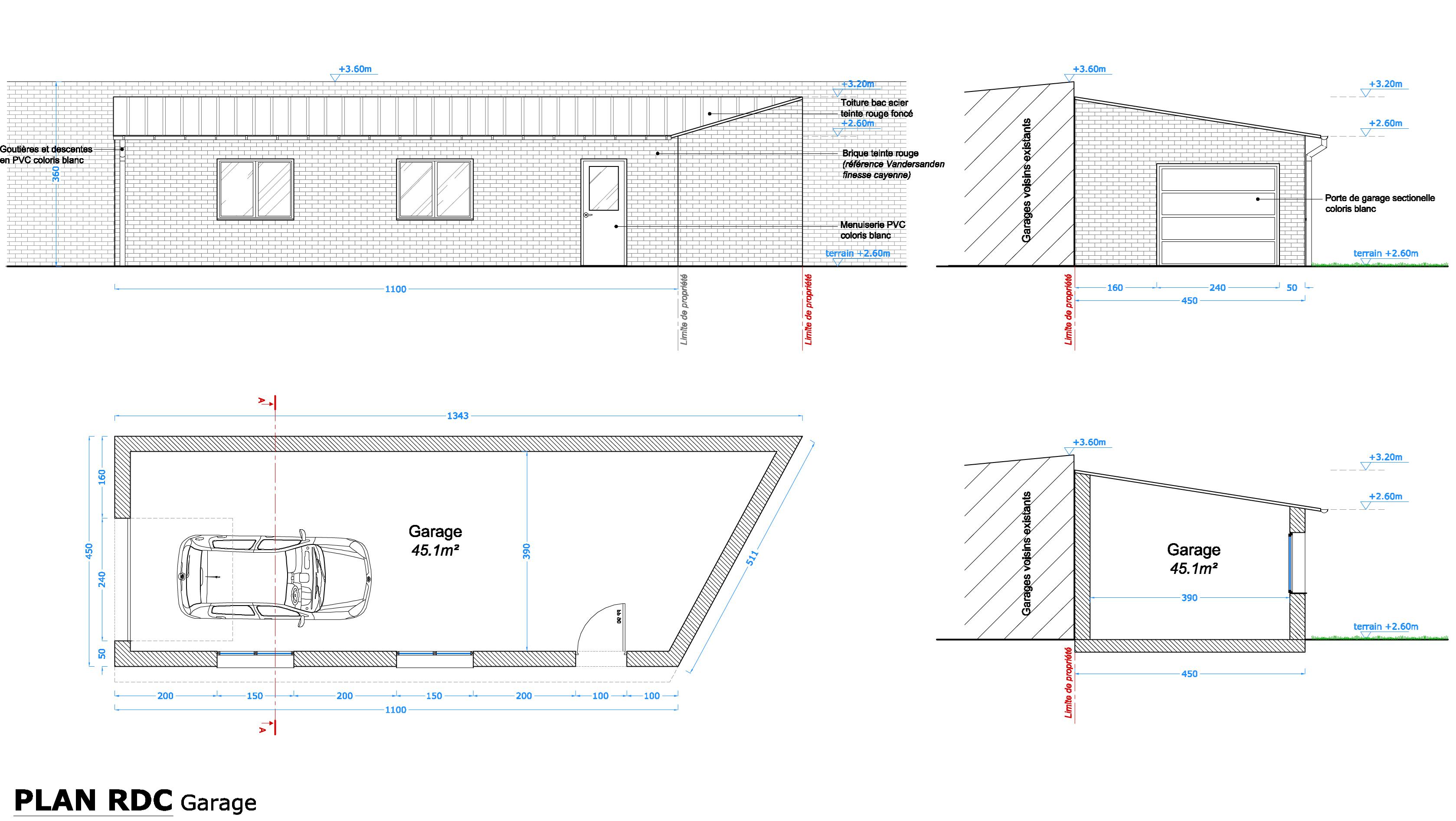 Transformation d un garage en chambre avec la construction for Cout d un permis de construire