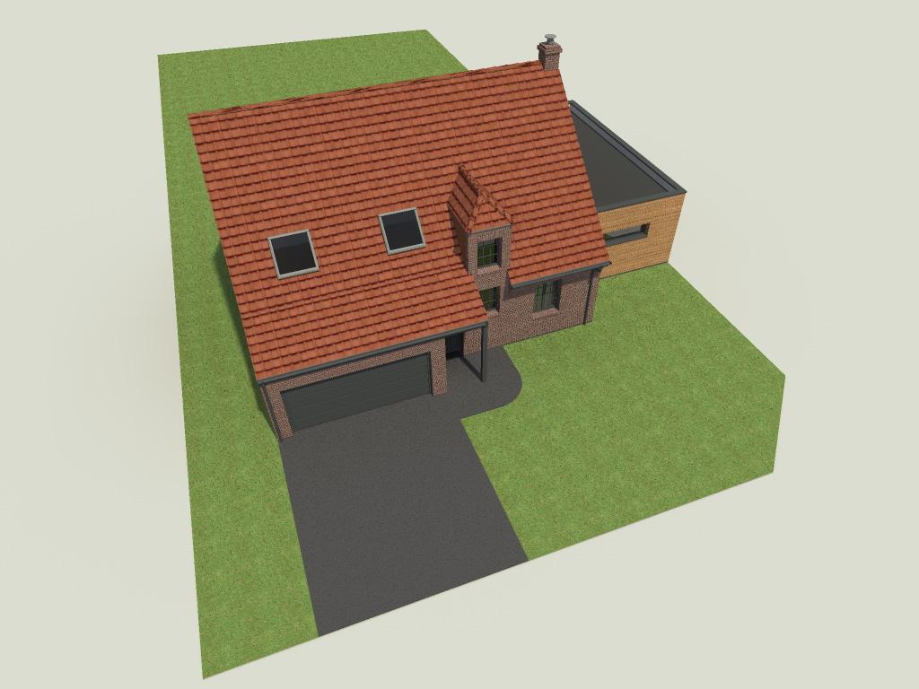 16.04 Extension maison permis de construire nord Famars2.1