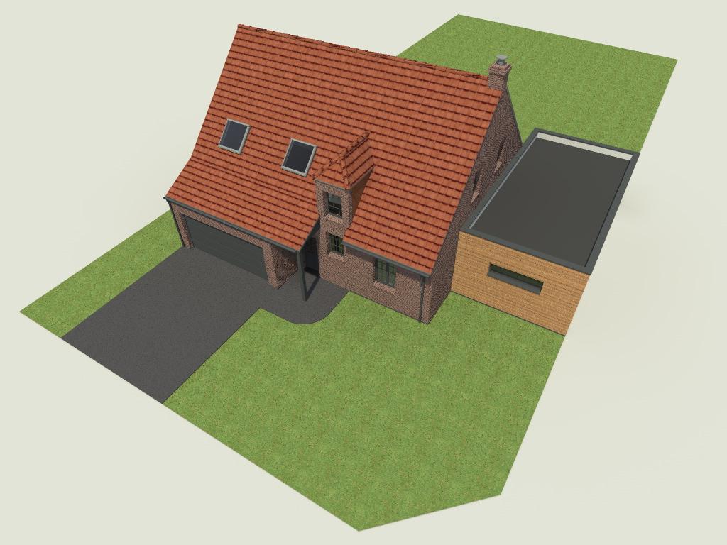 16.04 Extension maison permis de construire nord Famars2.2