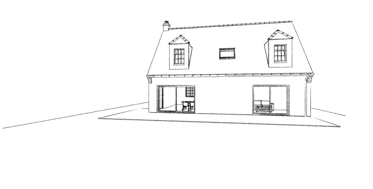 16.04 Extension maison permis de construire nord Famars8