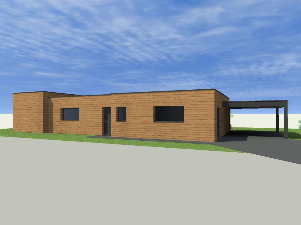 16.27 permis de construire maison plain pied nord 5