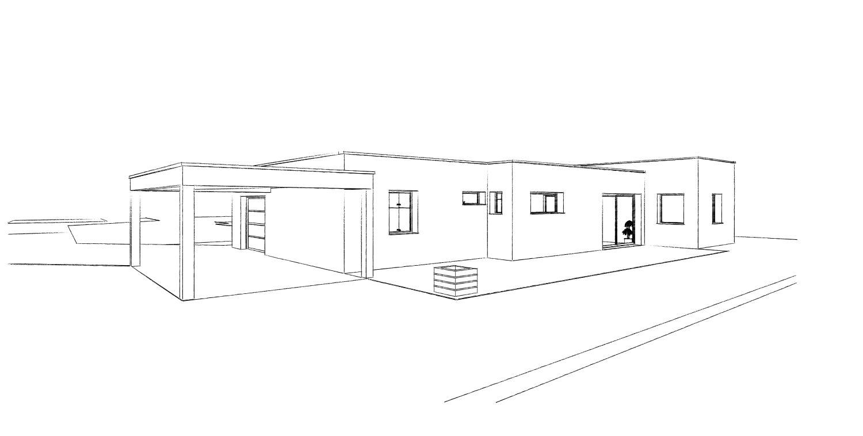 16.27 permis de construire maison plain pied nord 6