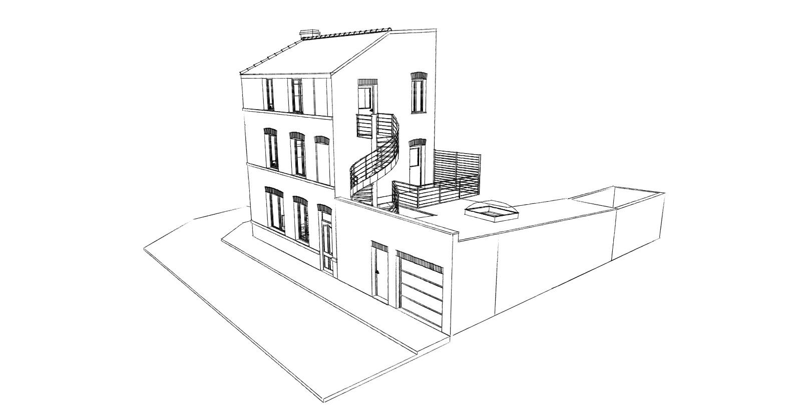 16.33 permis de construire division maison Lille11.2