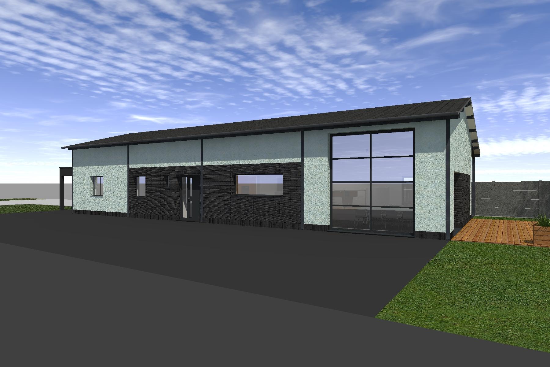 Permis de construire hangar loft 12 for Transformation grange en habitation permis de construire