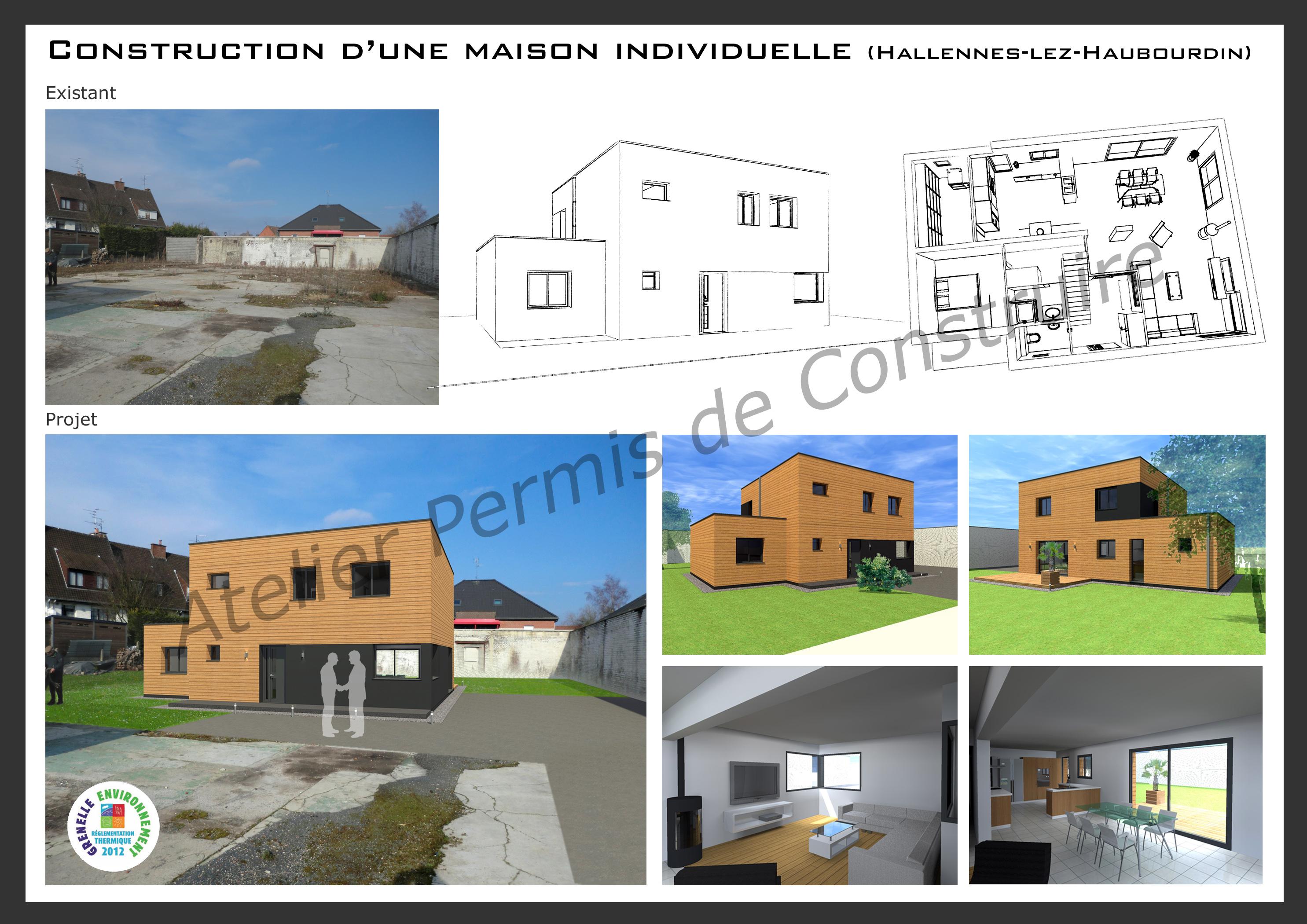 Construire une maison individuelle for Frais construction maison individuelle