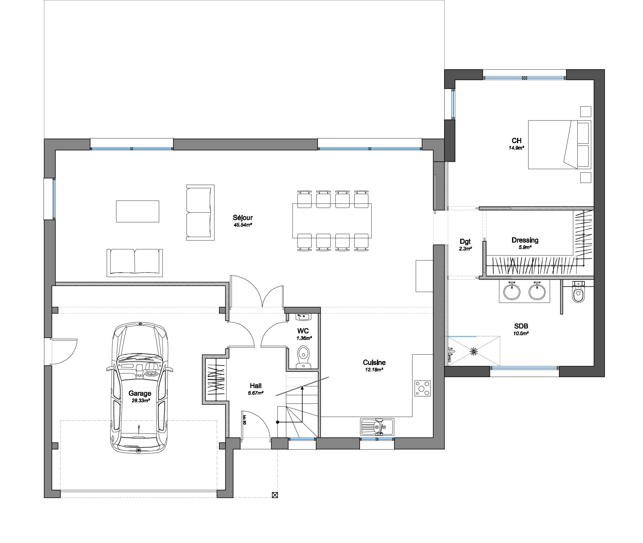 Permis De Construire Extension Maison Segu Maison